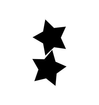 Securit Ardoise Silhouette Étoile + 1 Feutre Craie