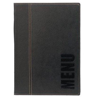 Securit Protège-Menu Trendy A5 - Noir