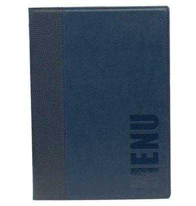 Securit Protège-Menu Trendy A5 - Bleu