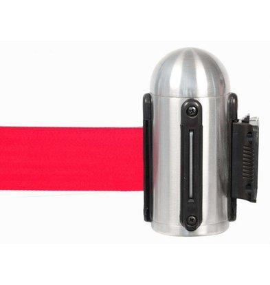 Securit Accroche Murale à Bande Réctable | Rouge 210cm
