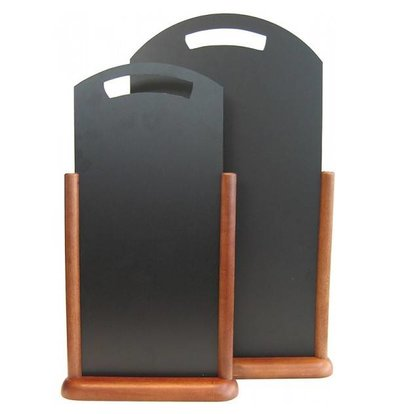 Securit Ardoise De Table Wengé - 210x450mm
