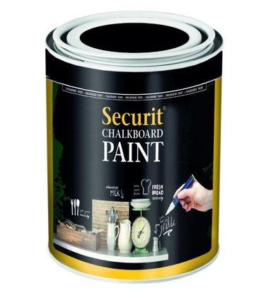 Securit Peinture Ardoise Acrylique Noir - 250ml