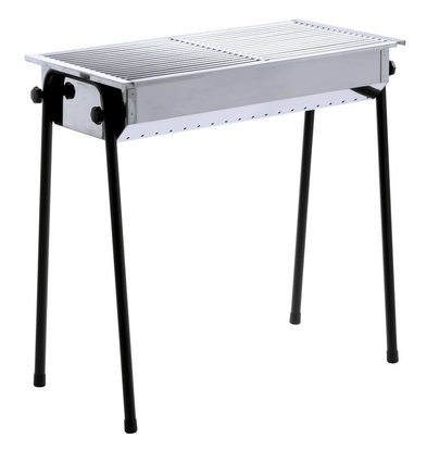 Hendi Barbecue à Charbon De Bois - Patio 2 Grills - 770x380x840(h)mm
