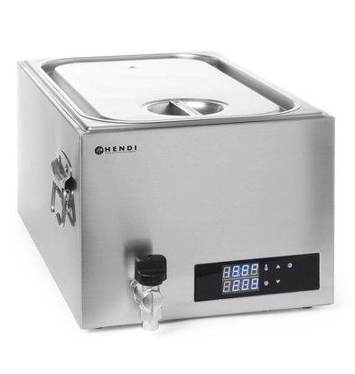 Hendi Cuiseur Sous-Vide GN 1/1 Inox   200(p)mm   20 Litres   600x330x300(h)mm