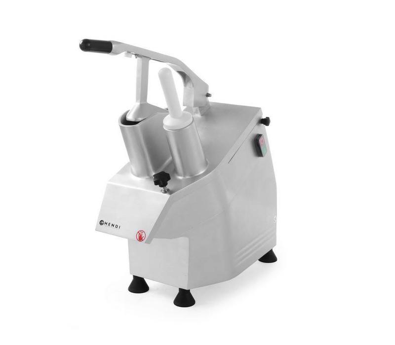 Hendi Coupe-Légumes Aluminium - 5 Lames - 550W - 540x240x450(h)mm