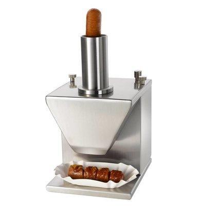 Hendi Coupe-Saucisses Électrique - Inox - 230V/135W - 230x185x325(h)mm