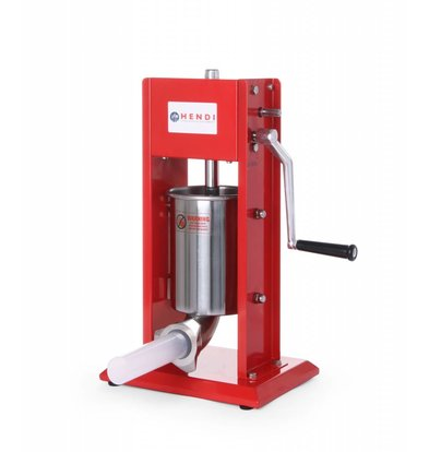 Hendi Machine à Saucisse Inox - Kitchen Line - 3 Litres - 300x340x570(h)mm