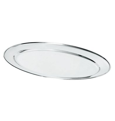 Hendi Plat Ovale Inox | Disponibles en 7 Tailles