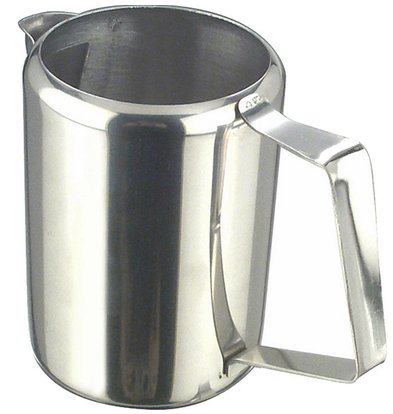 Hendi Pot à Lait/d'Eau Inox - 350ml - Ø85x110(h)mm