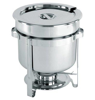 Hendi Chafing Dish Inox Pour Soupe   10 Litres   Ø370x345(h)mm