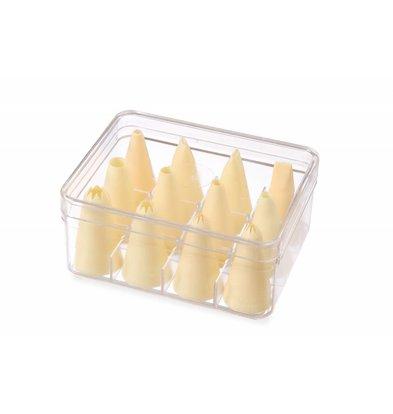 Hendi Douilles en Nylon   Boîte de 12 Pièces  Assorti Ø6,8,10,12mm