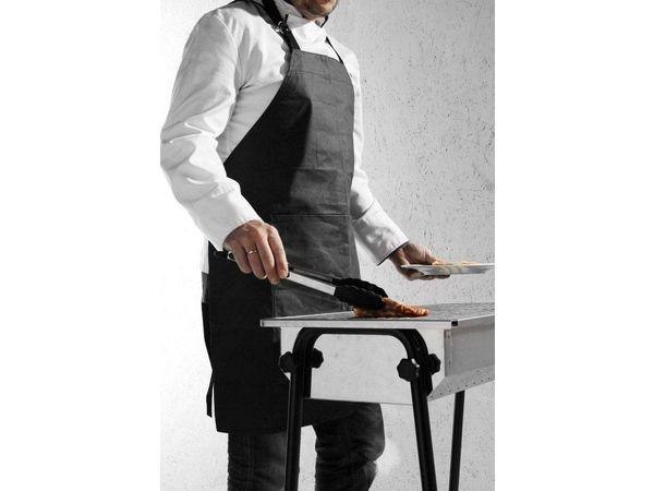 Hendi Tablier Barbecue - Coton Ignifuge - 810x660mm