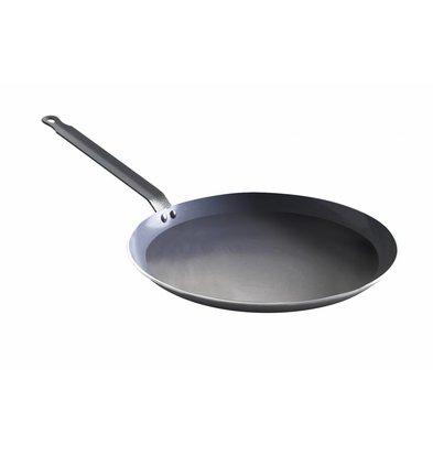 Hendi Poêle à Crêpes - Aluminium - Fond Ø240mm - Ø280x20(h)mm