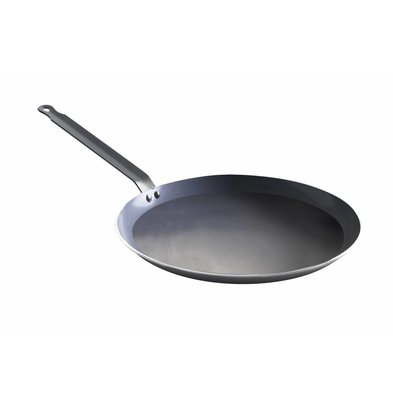 Hendi Poêle à Crêpes - Aluminium - Fond Ø280mm - Ø320x20(h)mm
