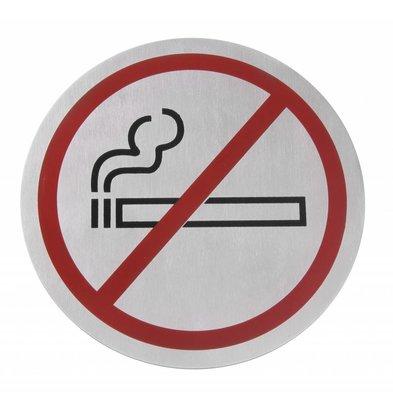 Hendi Pictogrammes Inox - Non Fumeur - Grand Ø160mm