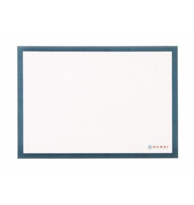Hendi Tapis Pâtissier - Silicone Anti-Adhésif - 600x400mm