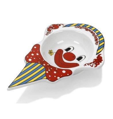Hendi Bol à Glace Modèle Clown - Porcelaine Blanche - 226x145x37mm