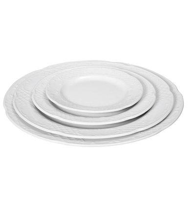 Hendi Assiette Plate FLORA - Porcelaine Blanche - Ø270mm