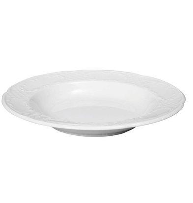 Hendi Assiette Creuse FLORA - Porcelaine Blanche - Ø240x37mm