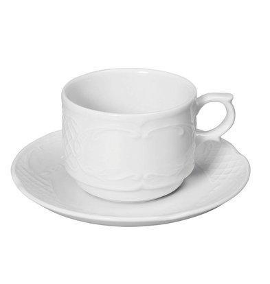 Hendi Tasse à Mocha Flora - Porcelaine Blanche - 120ml