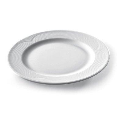 Hendi Assiette Plate SATURN - Porcelaine Blanche - Ø320mm
