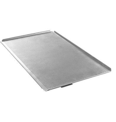 Hendi Plateau Perforé GN 1/1 - Avec 4 Bords - Aluminium
