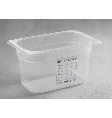 Hendi Boîte de Stockage GN 1/4 - 5,5 Litres - 200(h)mm