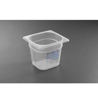 Hendi Boîte de Stockage GN 1/6 - 1,3 Litres - 100(h)mm