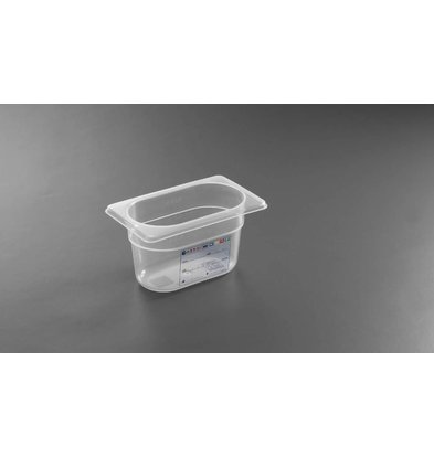 Hendi Boîte de Stockage GN 1/9 - 1 Litre - 100(h)mm