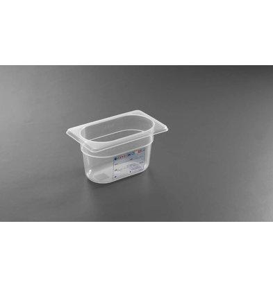 Hendi Boîte de Stockage GN 1/9 - 0,6 Litre - 65(h)mm