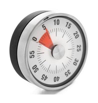 Hendi Miniuteur de Cuisine Analoge - Précisions à 1 Minute - Ø80mm