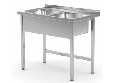 Tables de Prélavages INOX | 2 Eviers
