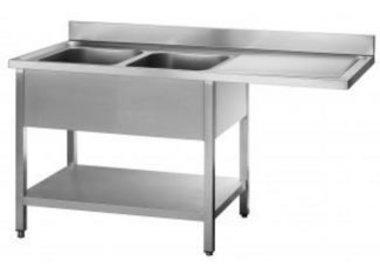 Tables de Prélavages INOX | Passage Lave-Vaisselle