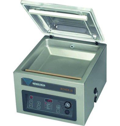 Henkelman BOXER 35   Machine Sous Vide Henkelman    Soudure 350mm   550x440x(h)420mm