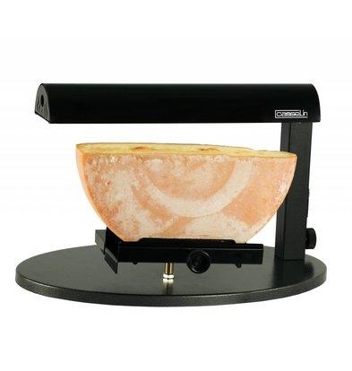 Casselin Appareil à Raclette - Demi Meule - 600W - 520x320x310(h)mm