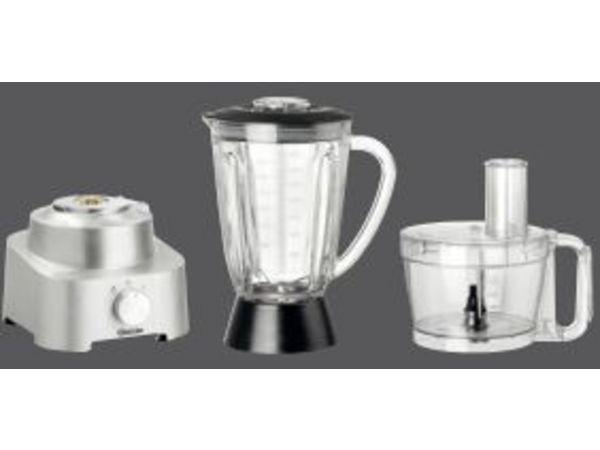 Bartscher Mélangeur Aluminium + Récipient En Verre - 1,6/2 Litres
