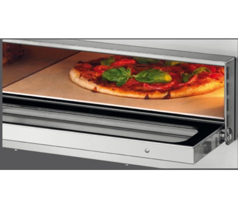 Bartscher Four à Pizza Mini Plus DOUBLE | 230V | 1 Pizza Ø350mm | 570x550x475(h)mm