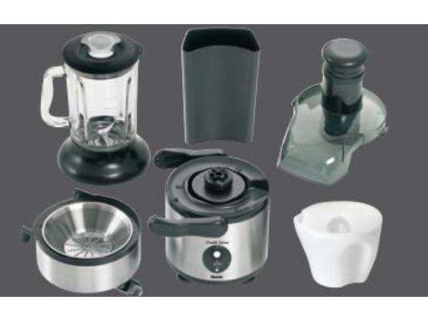 Bartscher Centrifugeuse à Jus & Mixeur - 1,8 Litres - 800W - 290x240x450(h)mm