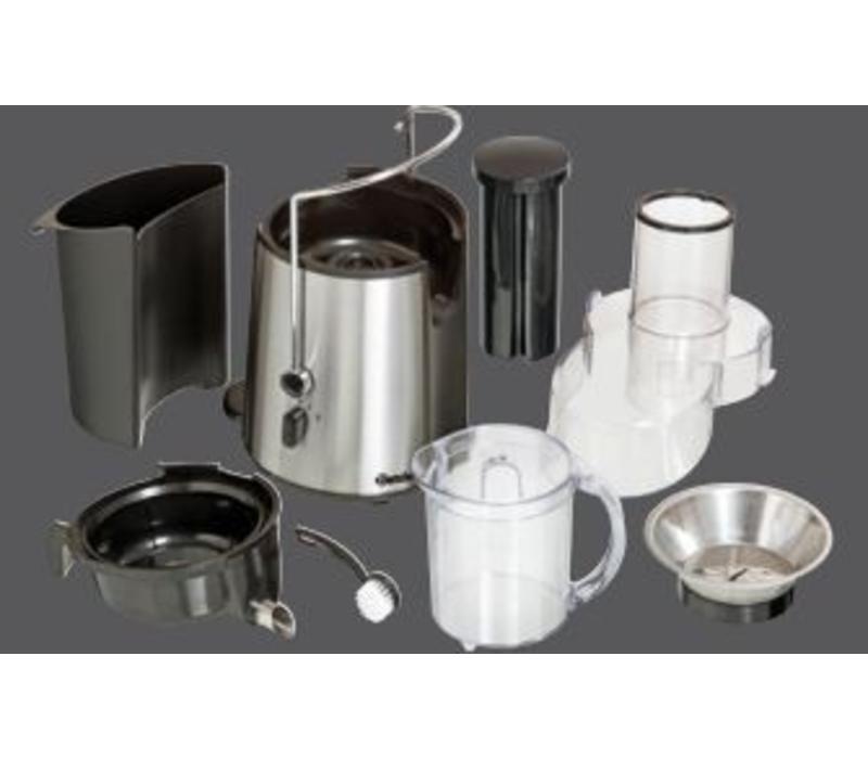Bartscher Centrifugeuse Top Juicer Inox - 700W - 1 Litre - 310x210x400(h)mm