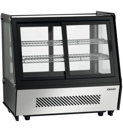 Bartscher Vitrine Réfrigérée 'Buffet' | 120Litres | Portes à 2 Faces | 710x570x690(h)mm
