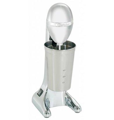 Bartscher Mixeur De Bar Chromé - Bol Inox - 85W - 700ml - 135x185x365(h)mm
