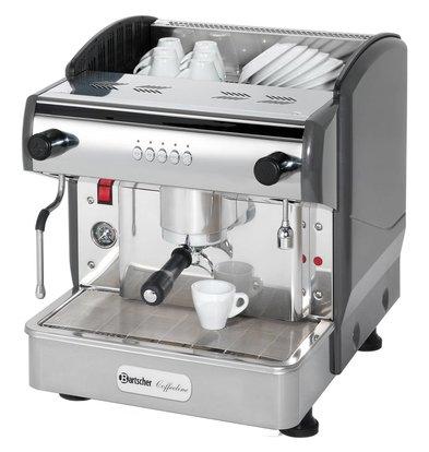 Bartscher Machine à Café 'Coffeeline G1' + Vanne Anti Vacuum - 2,85kW - 475x580x523(h)mm