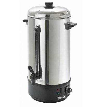 Bartscher Distributeur D'Eau Chaude Inox | 10 Litres | Ø213-505(h)mm