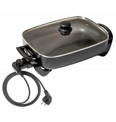 Bartscher Casserole Électrique Multi-Usage Carrée - 490x310x195(h)mm