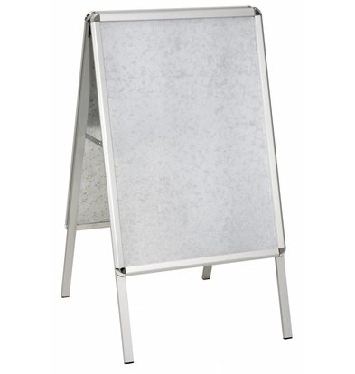 Bartscher Chevalet Porte-Affiches Aluminium - Format A1