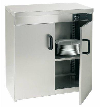 Bartscher Armoire Chauffante Inox |  110-120 Assiettes de Ø320mm | 1,2kW | 750x450x855(h)mm