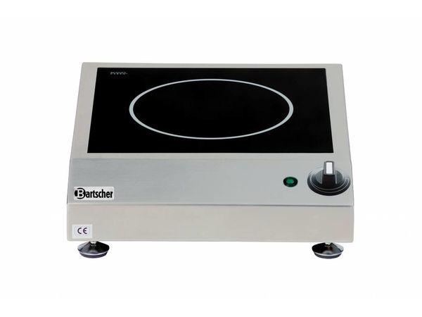 Bartscher Réchaud à Induction Inox   2,5kW/230V   340x420x100(h)mm