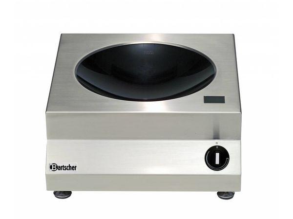 Bartscher Wok à Induction Inox | 3kW/230V | 400x455x180(h)mm