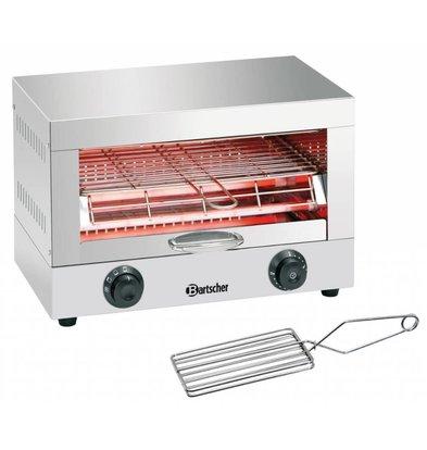 Bartscher Toaster/Gratiner Simple | 1700W | Minuterie de 15min