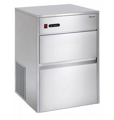 Bartscher Machine à Glaçons C25 - 25Kg/24h - Glaçons En Forme De Cône - 385x555x665(h)mm